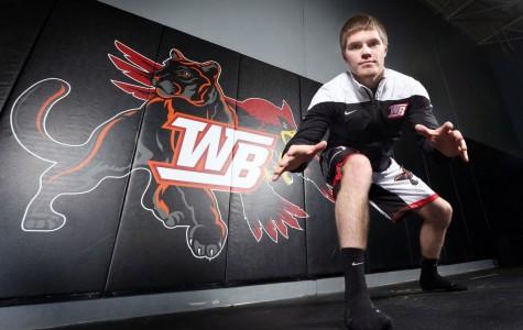 Bahr named Tribune Wrestler of the Year