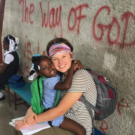 Senior Travels to Haiti for her Senior Exit Project