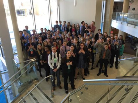 West Salem DECA has First Competition